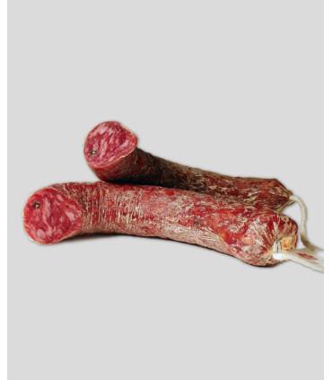 Longaniza de salchichón ibérico de bellota (450-500 grs. aprox.)
