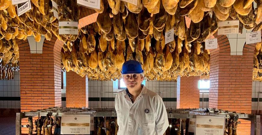 Jamón 5J de bellota 100% ibérico el jamón más famoso del mundo